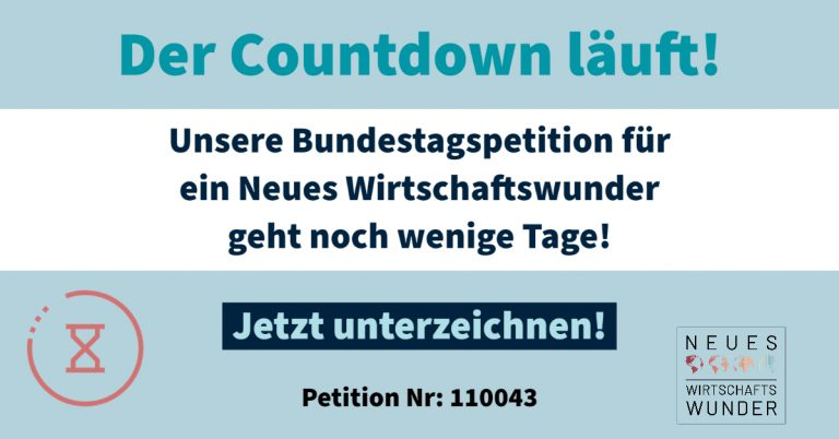 Petition noch 10 Tage